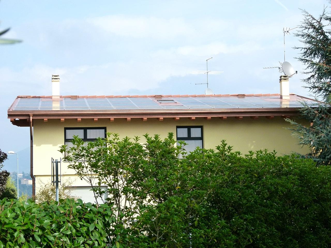 Fotovoltaik dach t s e v energy green solutions srl for T green srl
