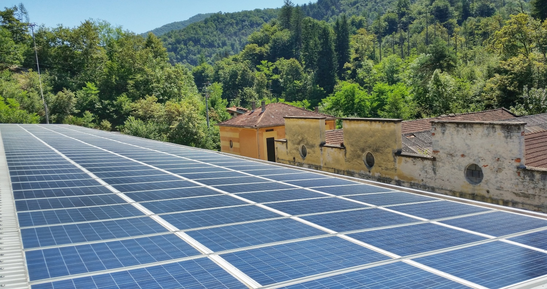 tetto fotovoltaico integrato